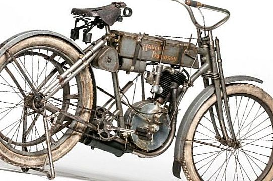 1907 Harley Davidson Strap Tank Single