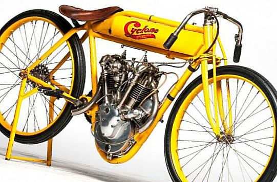1915 Cyclone Board Track Racer
